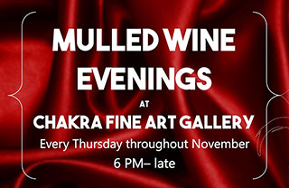 Mulled Wine at Chakra Gallery